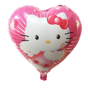 TSZWJ H-008 18inch hello kitty balloon hello kitty birthday KT party supplies hello kitty party favors foil balloon