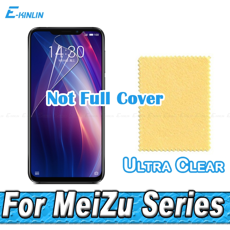 HD Clear Screen Protector Display Protective Soft Film For MeiZu X8 M8 Note 8 16 16th 15 Lite Pro 7 Plus 0